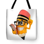 Smart Pencil Tote Bag