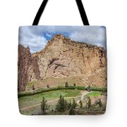 Smith Rock Close Up Tote Bag by Matthew Irvin