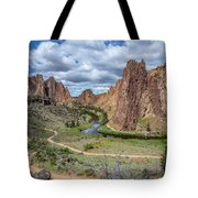 Smith Rock Grand View Tote Bag by Matthew Irvin