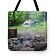 Smoking Tents Tote Bag