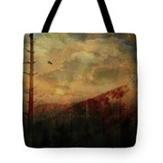 Smoky Morning Tote Bag