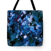 Smouldering Blue Tote Bag