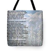Snow Bells Tote Bag