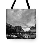 Snow In Yosemite Valley II Tote Bag