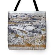 Snowy Dakota Tote Bag