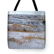 Snowy Slope County Territory Tote Bag