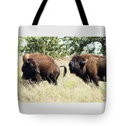 Something Is In The Wind Tote Bag by Sally Sperry