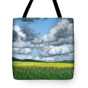 Somewhere In May Tote Bag