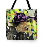 Sonic Exploration - A Jimi Hendrix Portrait Tote Bag