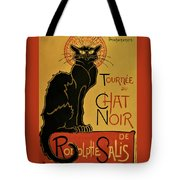Soon, The Black Cat Tour By Rodolphe Salis - Digital Remastered Edition Tote Bag