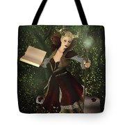 Sorceress And Magic Tote Bag