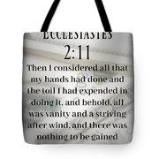 Soul Wealth Tote Bag