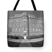 South Carolina State Hospital Black And White Tote Bag by Lisa Wooten