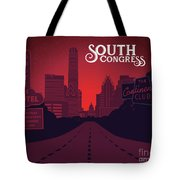 South Congress Avenue Tote Bag