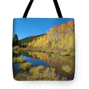 South Elbert Autumn Beauty Tote Bag by Cascade Colors