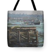 Southampton Northam Summer Evening Across The Itchen Tote Bag