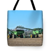 Soybean Harvest Max Tote Bag