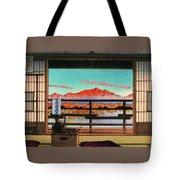 Spa Hotel Morning - Digital Remastered Edition Tote Bag