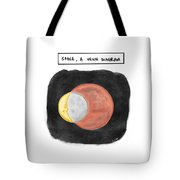 Space, A Venn Diagram Tote Bag