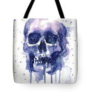 Space Skull Tote Bag