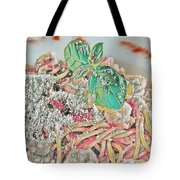 Spaghetti And Shrimp Tote Bag