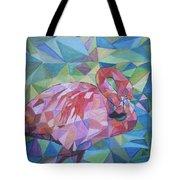 Sparkling Flamingo Tote Bag