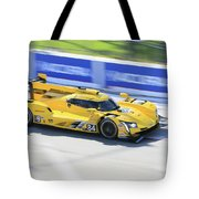 Speeding Cadillac Tote Bag