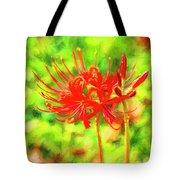 Spider Lily Cezanne Tote Bag