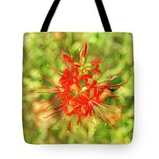 Spider Lily Pop Tote Bag