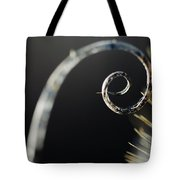 Spiral Thistle Tote Bag
