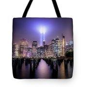 Spirit Of New York II Tote Bag