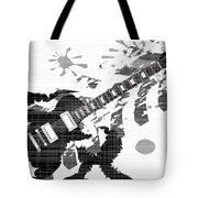 Splatter Guitar Tote Bag