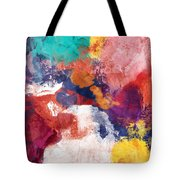Spring Crush 3- Abstract Art By Linda Woods Tote Bag