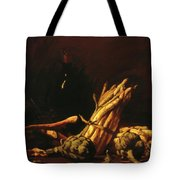 Spring Harvest Also Known As Still Life With Asparagus 1887 Tote Bag
