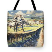 Spring In The Bellet Fruit Orchard Tote Bag