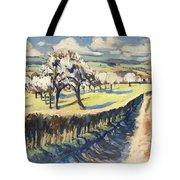 Spring In The Bellet Fruit Orchard Tote Bag
