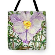 Spring Macro Tangle Tote Bag