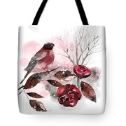 Spring Rests In The Heart Of Winter Tote Bag