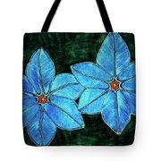 Spring Star Flowers Tote Bag