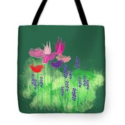 Springy Tote Bag by Gina Harrison