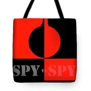 Spy Vs Spy Tote Bag