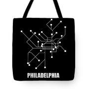 Square Philadelphia Subway Map Tote Bag