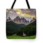 St Johann Sunrise Tote Bag by James Billings