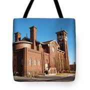 St. Leo Catholic Church Tote Bag by Fran Riley