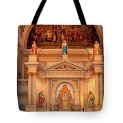 St. Louis Cathedral Altar New Orleans Tote Bag