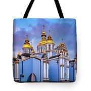 St. Michael's Golden-domed Monastery Tote Bag