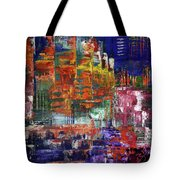 Stairs Leading To Stars Tote Bag