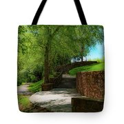 Stairway To Carlyle Tote Bag