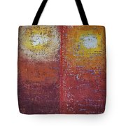 Staring Into The Suns Original Painting Tote Bag