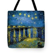 Starry Night - Digital Remastered Edition Tote Bag